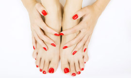 Luxury manicures & pedicures for special occasions or regular maintenance. Beauty Revived also offer a Callus Peel treatment for quick, effective hard skin reduction on your feet.
